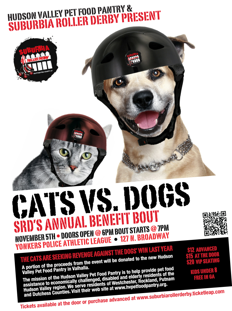 Suburbia Dogs vs. Cats Charity Bout