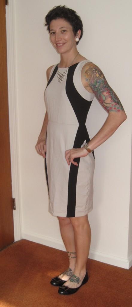 Andrew Marc Saiara Sleeveless Dress