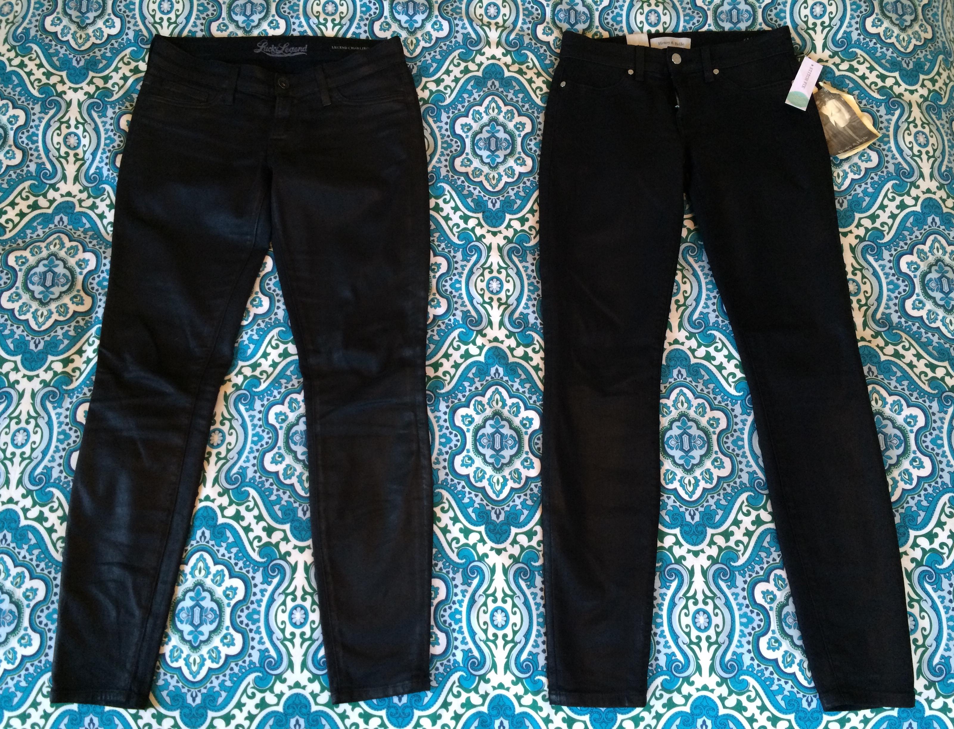 Lucky Jeans vs Henry & Belle Jeans