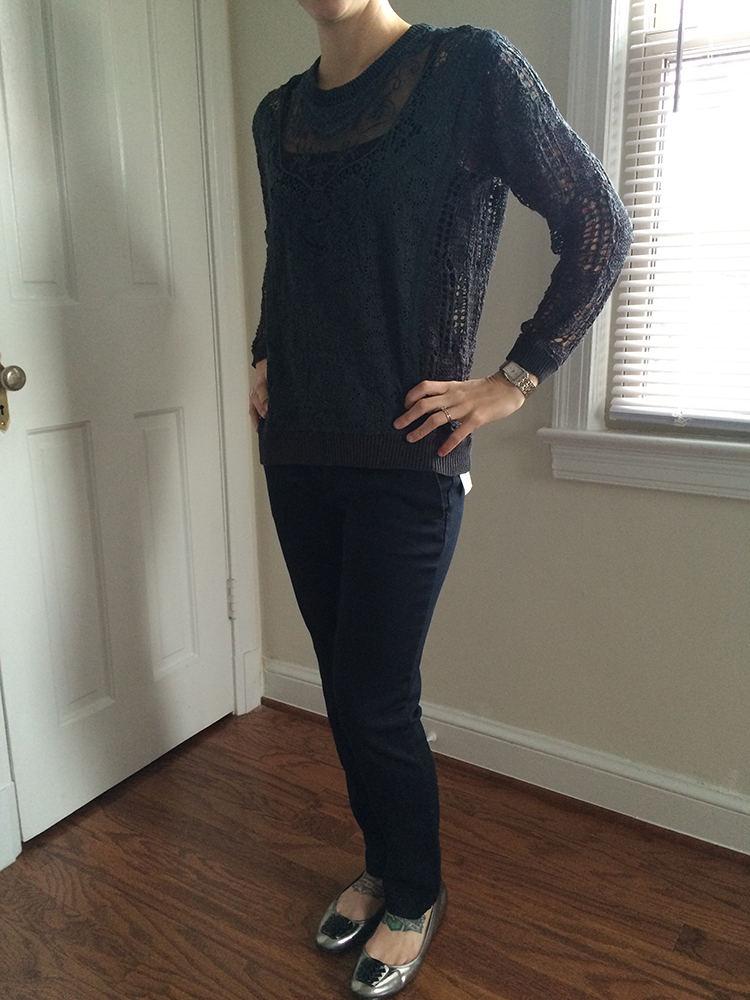 Mystree Kayella Lace Sweater (front)