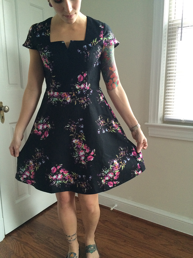 Yumi Trey Floral Dress