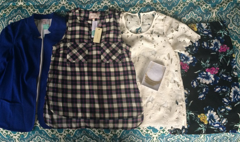 April Stitch Fix box