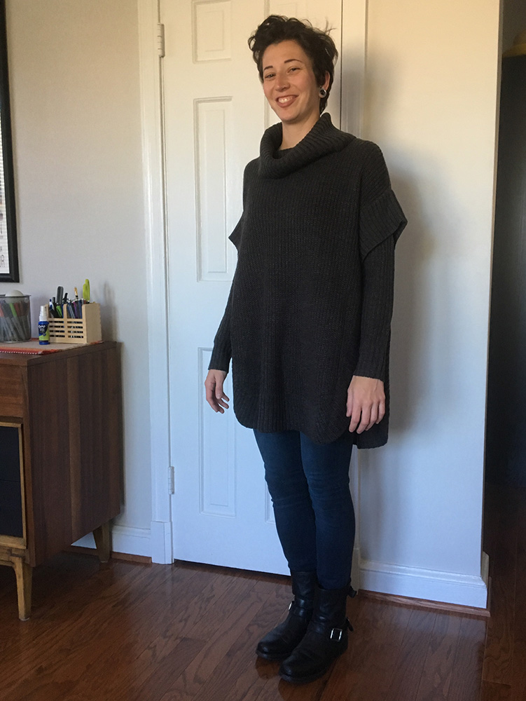 RD Style Jana Poncho Pullover (front)