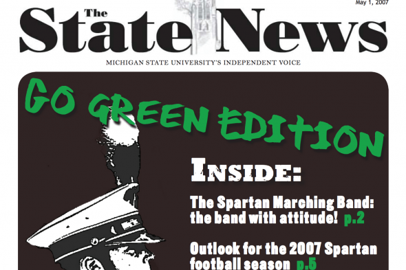 Spartan Marching Band feature