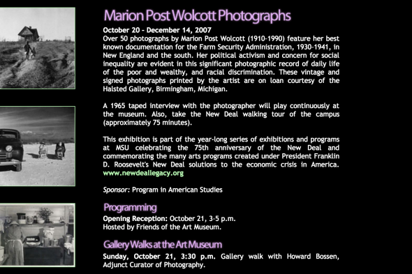 Marion Post Wolcott Photographs