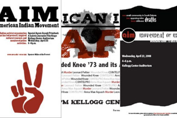 American Indian Movement posters
