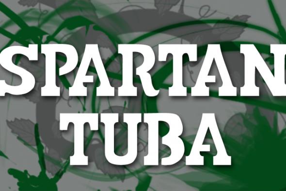 Spartan Tuba font