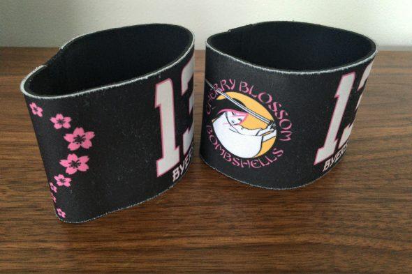 Cherry Blossom Bombshells armbands