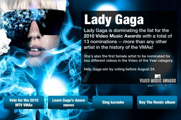 Lady Gaga iTV Ad Campaign