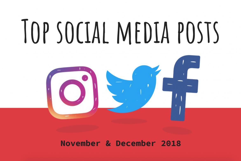 Clark School top social media posts